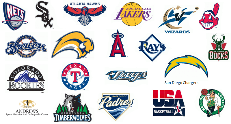 Professional sports team logo